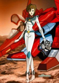 cartoons japan Miriya Sterling - Robotech II: The Sentinels - Art by Marianela Giola Manga Anime, Sci Fi Anime, Anime Art, Macross Valkyrie, Robotech Macross, Sci Fi Comics, Anime Comics, Cartoon Fan, Girl Cartoon