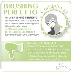Brushing perfetto con la bocchetta ultrastretta degli #asciugacapelli Gama… e un efficace tocco finale! /// Perfect brushing with the super-small nozzle of Gama #hairdryers... and a special final touch! #gamaconsiglia #howto #hair #dryer #dryers #hairdryer #capelli #hairtips #tips #gamaprofessional #gamaitalia #tutorial #blowdryer #phon www.gamaprofessional.it/Asciugacapelli