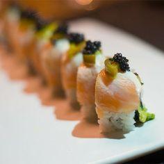 Jalapeno and caviar roll: Inari, Kuruçeşme - Mekanist Hot Spots Istanbul Restaurant Guide