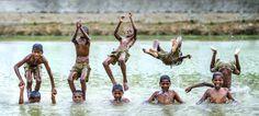 Water Acrobatics by Ravikanth Kurma on 500px