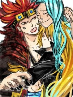 """""""I bet the Kid pirates are just a bunch of cuddlers""""  ---> Now THAT would be a nice plot twist. Come on, Eustass-ya, show us some fluff!"""