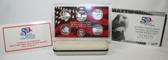 2005 US Silver State Quarters Proof Set