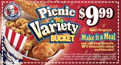 Kfc Coupons PROMO expires May 2020 Hurry up for a BIG SAVERS KFC is a well-known chicken restaurant chain in the United States. Mcdonalds Coupons, Kfc Coupons, Grocery Coupons, Online Coupons, Free Coupons, Print Coupons, Discount Coupons, Kfc Printable Coupons, Free Printables