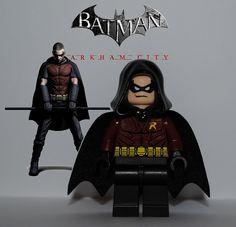 lego batman arkham knight robin - Google Search