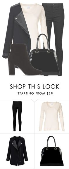 """""""Outfit #1546"""" by lauraandrade98 on Polyvore featuring J Brand, Diophy and Yves Saint Laurent"""