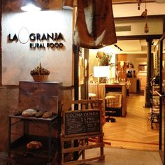 El Plan B: GRANJA RURAL FOOD en MADRID