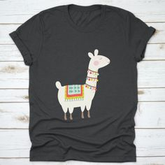 Buy yours Cute Llama Alpaca Drawing Gift T-Shirt now today at Panda Gifts at lowest price if you are looking for products related to Cute Alpaca, Llama Alpaca, Birthday Gifts For Kids, Girl Birthday, Alpaca Drawing, Panda Gifts, Create Shirts, Digital Prints, Drawings