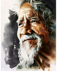 Photo by Nader Watercolor on January Image may contain: 1 person Watercolor Portrait Painting, Abstract Portrait, Mural Painting, Oil Painting Abstract, Watercolor Landscape, Portrait Art, Watercolor Art, Indian Art Gallery, Indian Art Paintings