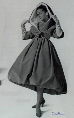 Givenchy dress, 1958