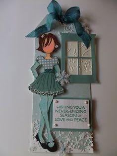 Julie Nutting Doll Stamps - Prima Marketing   Wendy Schultz - Prima - Julie Nutting Doll Stamps.