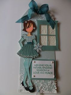 Julie Nutting Doll Stamps - Prima Marketing | Wendy Schultz - Prima - Julie Nutting Doll Stamps.