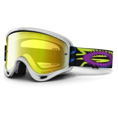1729c48394 Oakley Troy Lee Designs MX XS O Frame TLD Zap Youth Special Editions  Signature Series Off-Road Motorcycle Goggles Eyewear - Iridium