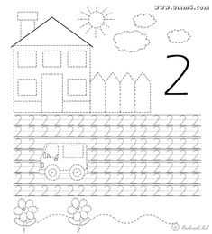 Preschool Writing, Numbers Preschool, Kindergarten Math Worksheets, Alphabet Worksheets, Free Preschool, Math Numbers, Writing Numbers, Preschool Printables, Preschool Learning
