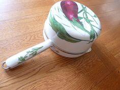 REDUCED Ceramic Saucepan bain marie for copper saucepan