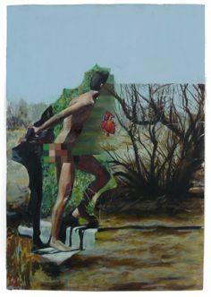 "Saatchi Online Artist: Jessica Kirkpatrick; Oil 2013 Painting ""The Arrest"""