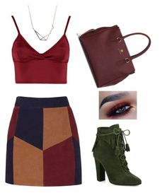 """Autumnal Breeze"" by ebonymcrae on Polyvore featuring Giuseppe Zanotti, La Marque and Lipsy"