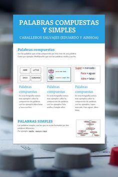 PALABRAS COMPUESTAS Y SIMPLES