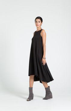 Black Summer Dress / Party Dress / Strapless Dress by marcellamoda
