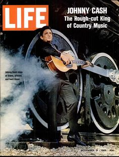 Johnny Cash on the cover of Life - November 21, 1969