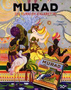 Ad for Murad cigarettes 1919