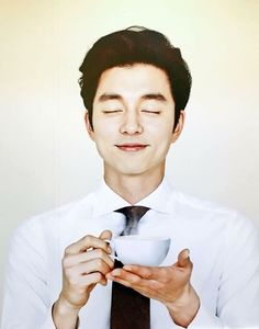Gong Yoo, tea?