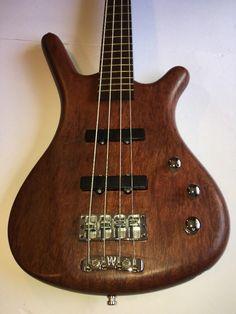 WARWICK Corvette Standard 4-String Electric Bubinga Bass Guitar 2003 GERMANY #Warwick #PrecisionBassJazzBass