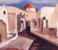 Μηταράκης Γιάννης(1897-1963).1933-Μυκονιάτικο στενό