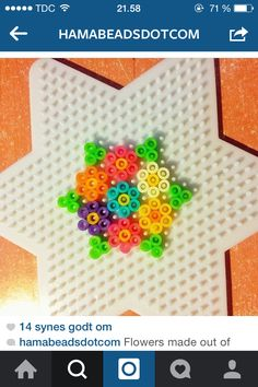 Flowers - as a coaster maybe?