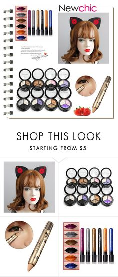 """""""Newchic25"""" by merisa-imsirovic ❤ liked on Polyvore featuring beauty, Koo and WALL"""