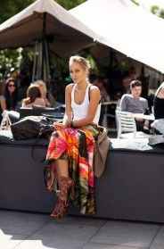 On the Street….Somerset House, London « The Sartorialist Sartorialist, Material Girls, White Tank, Somerset, Spring Summer, Street Style, London, Summer Styles, My Style