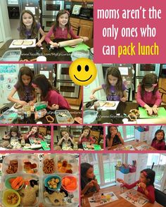 Moms aren't the ONLY ones who can pack lunch!