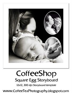 The CoffeeShop Blog: CoffeeShop Square Egg Storyboard Template!