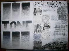 Gcse art sketchbook mark making 38 ideas Drawing Lessons, Art Lessons, Drawing Tips, Gcse Art Sketchbook, Sketchbook Ideas, Sketchbooks, Art Alevel, Value In Art, Jr Art