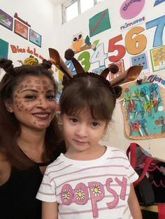 Painting face jirafa