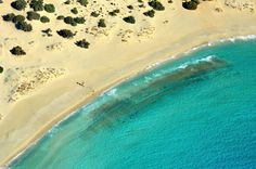 Discover Elafonisos in Greece - The Island with the only Caribbean Beach in Europe - Guidora Places In Greece, Greece Hotels, Beach List, Small Island, Greece Travel, Caribbean, Beautiful Places, Scenery, Places To Visit
