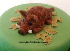 Wild Boar Pig Hunter Cake