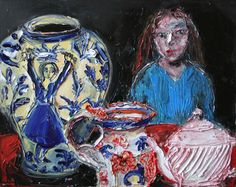 Exhibitions -Shani Rhys James - New Paintings- Martin Tinney Gallery