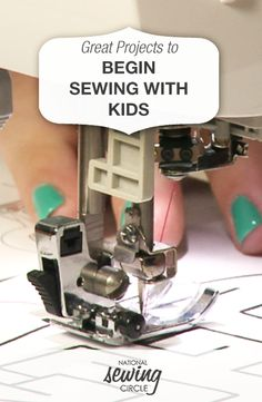 Great Projects to Begin Sewing for Kids | NSC  #LetsSew