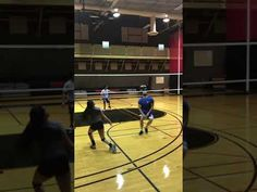 A volleyball spike is the way a hitter attacks the ball after a spike approach sending it over the net to score a point in the opposing court with force.