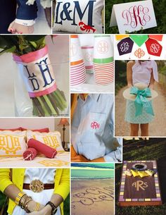 events uncorked: Lusting After {Monograms}