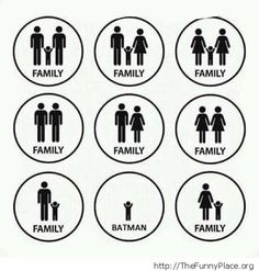 Childfree couples are families too. I hate when people ask if I have a family-of course I do!<<< LGBTQ couples are the best couples ever. Lol I love the batman at the end XD. Lgbt Memes, Dc Memes, Lgbt Quotes, Gay Rights Quotes, Wife Quotes, Sassy Quotes, Friend Quotes, Couple Quotes, Quotes Quotes