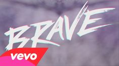 """Moriah Peters song, """"Brave"""" = motivation.  """"Fear kills more dreams than failure""""- Andy Mineo on the bonus version."""