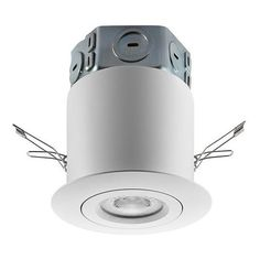 Holiday living red noeljoy ornament with white led lights lowes shop utilitech pro white led remodel recessed light kit fits opening at lowes canada find our selection of recessed lighting kits at the lowest price aloadofball Image collections