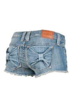 $25.00 Bow Pocket #Shorts #bow #summertime