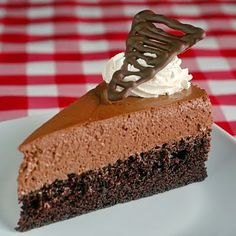 Chocolate mousse!!! Take my life, take my life.... I am SURE this is heavenly!