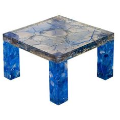 Pierre Giraudon, Polyester Resin Low Table, 1970s.