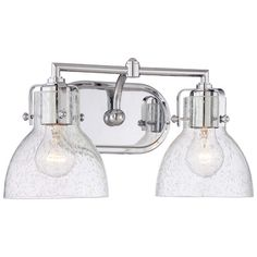 Found it at Wayfair - Dolan 2-Bulb Vanity Light