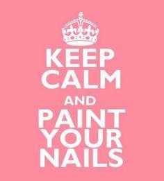 #keepcalm #nails #paint #meme