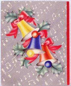 40s Festive Colorful Bells