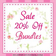 Sale!20% Off Bundles! Sale!20% Off Bundles! Laura's Boutique Other